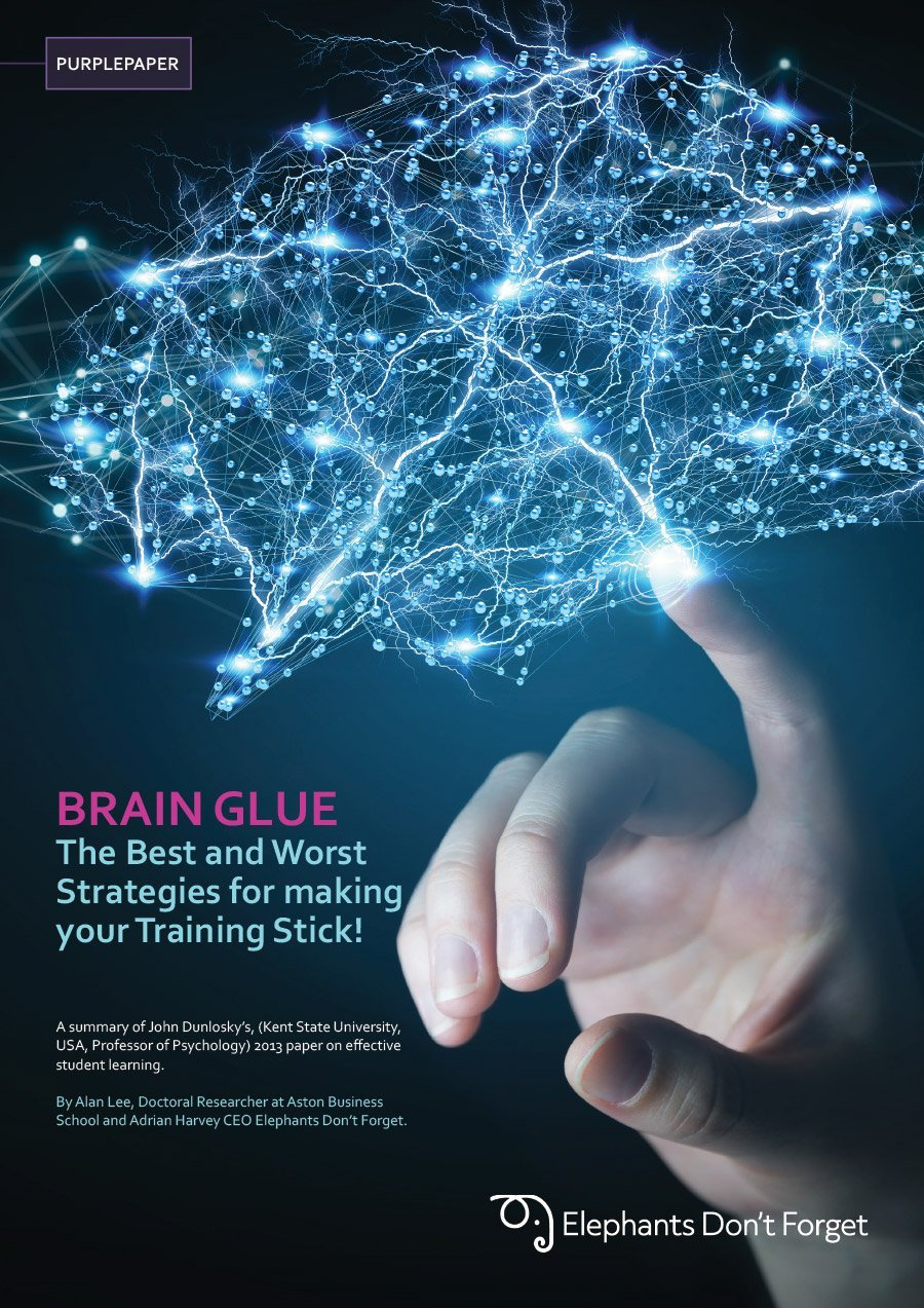 BRAIN GLUE The Best and Worst Strategies for making your Training Stick!