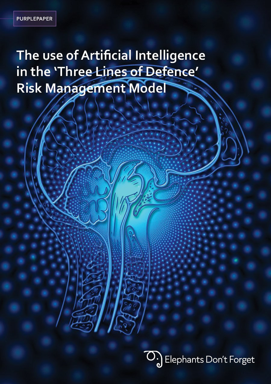 The use of Artificial Intelligence in the 'Three Lines of Defence' Risk Management Model